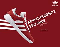 Adidas — Landing page