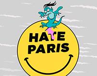 Hate Paris poster