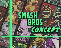 Smash Bros poster Comcis