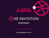 Dribbble Invitation Giveaway (Winner Announced)