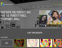 Want Art At - Design Exploration