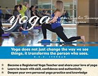 Yoga Promotional Flyer
