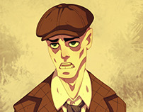 Chet Cagney | Character Design Commission