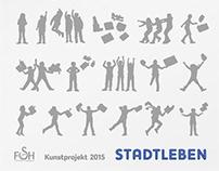 Stadtleben – Kunstprojekt