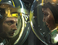 Movie Shot color study from Prometheus