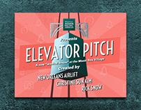 Elevator Pitch Branding & Poster Design