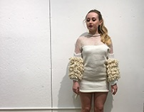 Machine Knitting Final- Textured Mini Dress