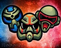 Robot-heads Series Mascot logos