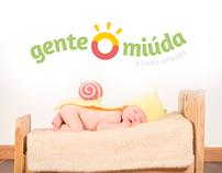 Gente Miúda - Logo design