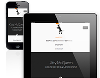 Kitty Mcqueen - Web / Mobile Design