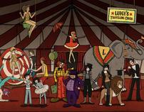 Luigi's Travelling Circus