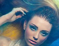 beauty shoot for sleek make up