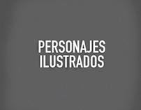 Personajes Ilustrados