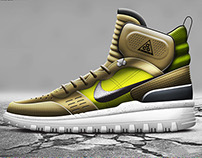 Hiking Boot Concept