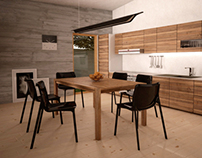 MINIMAL Kitchen and living project