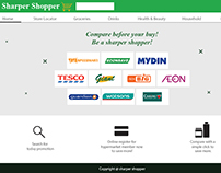 Sharper shopper web revamp