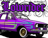 Renault 12 Lowrider
