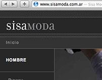 SisaModa - Logo design - Website
