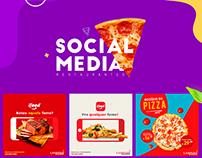 Social Media - Restaurantes ♢ 2018