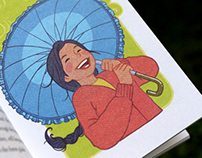 Blue Umbrella - Illustrated Storybook