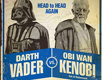 Star Wars Fight Posters