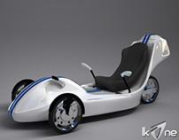 IKONE - A three-wheeled EV