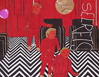 Twin Peaks Fanzine Illustration