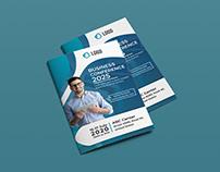 Bi-fold Brochure Template   Freebie