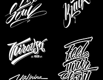 Lettering and Illustration