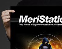 Diseño gráfico para Meristation
