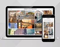 Architecture Portfolio Web Design