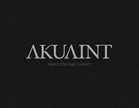 Akuaint - branding project