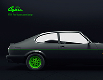 Ford Capri RTR-X Painting Visualization
