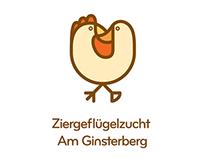 Ziergeflügelzucht Am Ginsterberg Logo Project