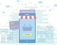 Daily UI Mobile online, Mobile Shopping, Shopping onlin