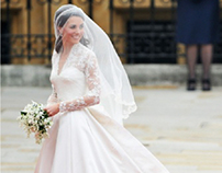 Kate Middleton's Wedding Dress - Product Description