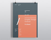 Graphic Design Festival Scotland Poster
