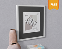 Free Perspective Frame Mock Up