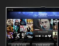 Diseño de aplicación NexTV