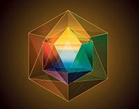 Illustrator Training - Transparent Polyhedron