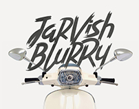 Jarvish Blurry - Brush Font