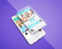 Freebie - iPhone App Screen PSD Mockup