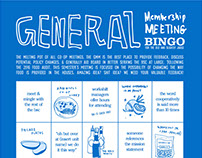 General Membership Meeting Spring 2017 Bingo Sheets