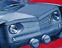 "Renault R8, ""Furious Chuck"""