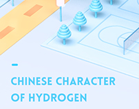 The Chinese character of hydrogen