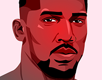 Anthony Joshua portrait