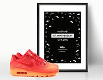 Poster Footshop Anniversary