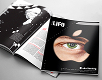 Lifo Magazine Redesign