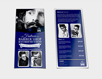 Barber Shop Flyer DL Size Template Vol.2