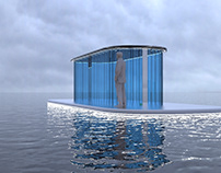 Houseboat exterior concept project